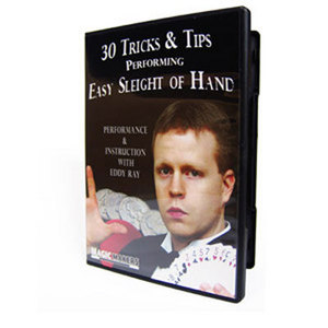 30 Tricks & Tips Easy Sleight of Hand DVD